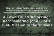Newton History Series: A Town Called Rejoicing