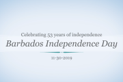 Barbados Independence Day Celebration