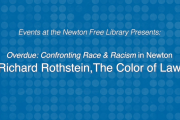 Events at the Newton Free Library: Richard Rothstein, The Color of Law